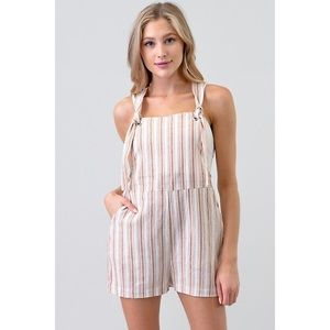 Mandy Striped Overall